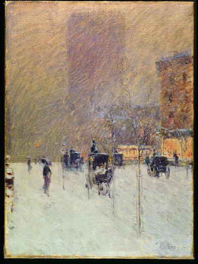 Winter Afternoon in New York, 1900-Childe Hassam-Giclee Print