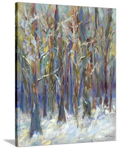 Winter Angels in the Aspen-Amy Dixon-Stretched Canvas Print