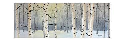 Winter Birch Forest-Julie Peterson-Art Print