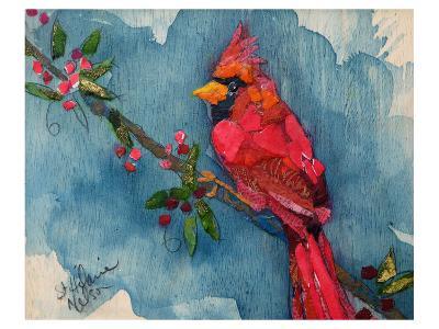 Winter Cardinal--Art Print