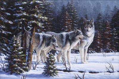 Winter Coats-R.W. Hedge-Giclee Print