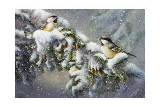Winter Companions-Wanda Mumm-Giclee Print