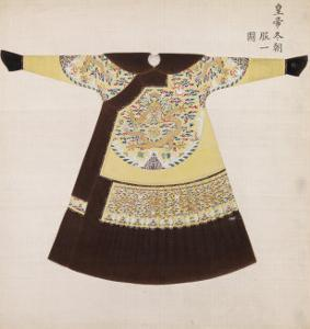 Winter Court Robe Worn by the Emperor, China