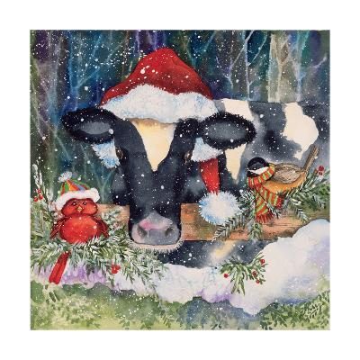 Winter Cow-Kathleen Parr McKenna-Art Print
