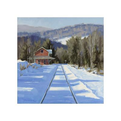 Winter?Crossing-Fenner Ball-Giclee Print