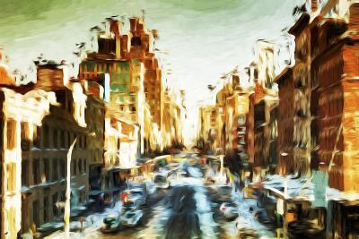 Winter Day I - In the Style of Oil Painting-Philippe Hugonnard-Giclee Print