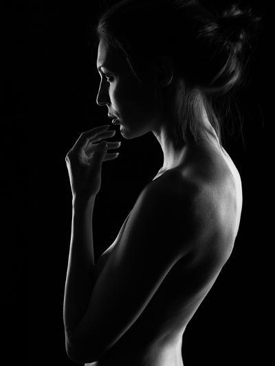 Winter Evening-Dmitriy Batenko-Photographic Print