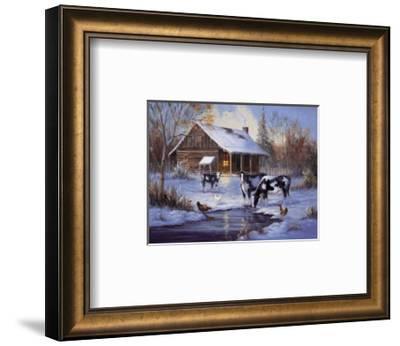 Winter Farm-M^ Caroselli-Framed Art Print