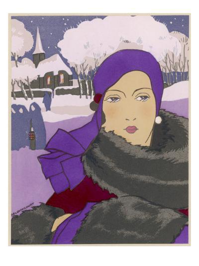 Winter Fashion--Giclee Print