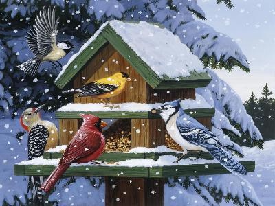 Winter Feast-William Vanderdasson-Giclee Print