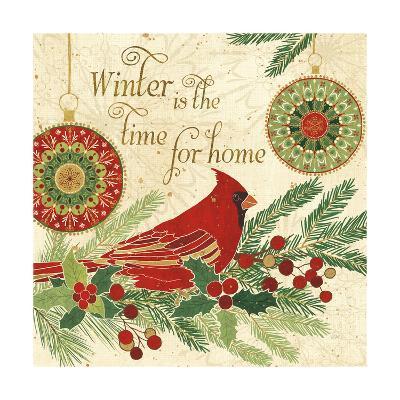 Winter Feathers V-Veronique Charron-Art Print