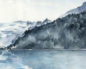 Winter Fjords II