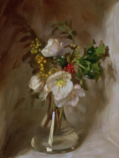 Winter Flowers-John Henry Lorimer-Giclee Print