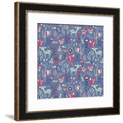 Winter Forest--Framed Giclee Print