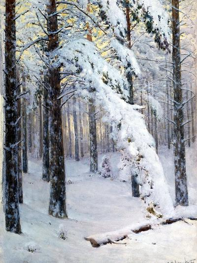 Winter Forest-Konstantin Yakovlevich Kryzhitsky-Giclee Print