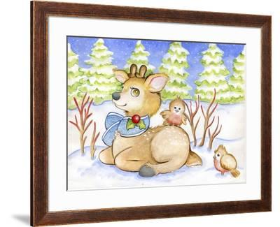 Winter Friends-Valarie Wade-Framed Giclee Print