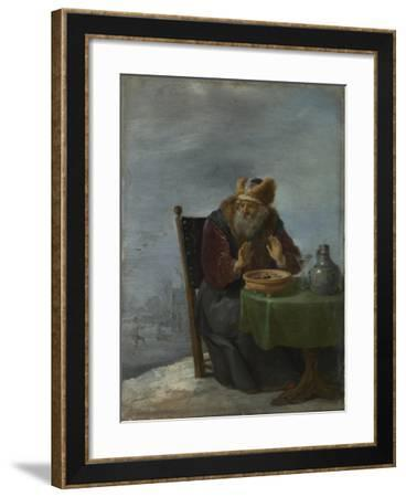 Winter (From the Series the Four Season), C. 1644-David Teniers the Younger-Framed Giclee Print