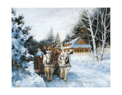 Winter Fun-Lise Auger-Art Print
