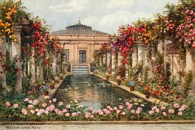 Winter Gardens and Pavilion, Weston-Super-Mare-Alfred Robert Quinton-Giclee Print