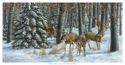Winter Gathering-Carolyn Mock-Art Print