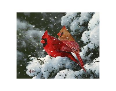 Winter Harmony-Mark Kelso-Art Print