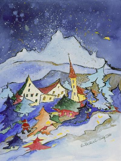 Winter in the Mountains 2001-Annette Bartusch-Goger-Giclee Print