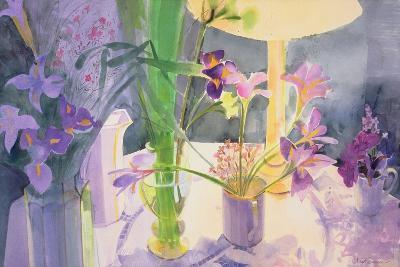 Winter Iris-Claire Spencer-Giclee Print