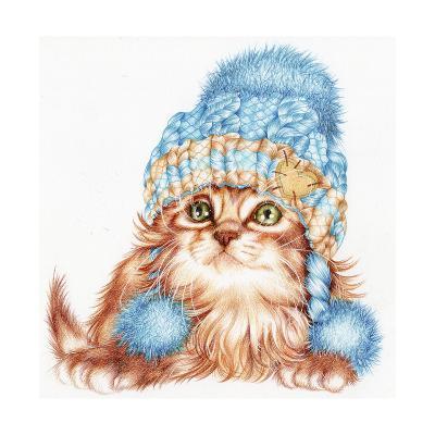 Winter Kitten-Karen Middleton-Giclee Print
