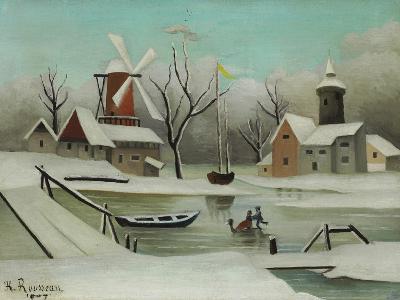 Winter (L'Hiver), 1907-Henri Rousseau-Giclee Print