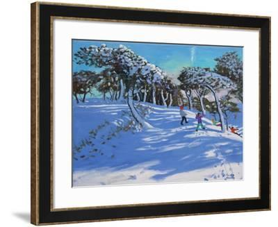 Winter, Ladmanlow, Derbyshire, 2013-Andrew Macara-Framed Giclee Print