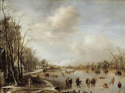 Winter Landscape, 1645-Aert van der Neer-Giclee Print