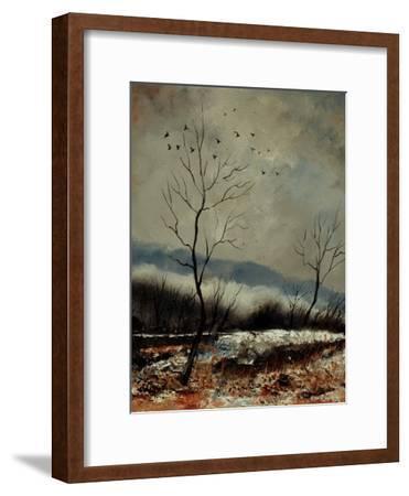 Winter Landscape 450190-Pol Ledent-Framed Art Print