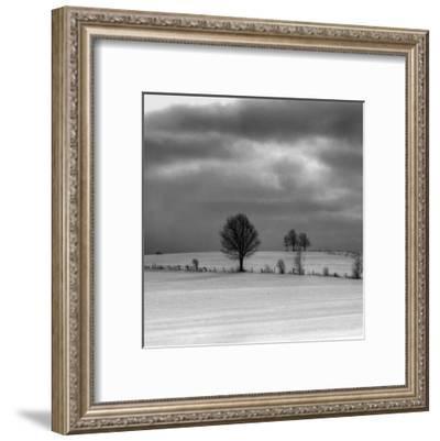 Winter Landscape I-Jean-François Dupuis-Framed Art Print