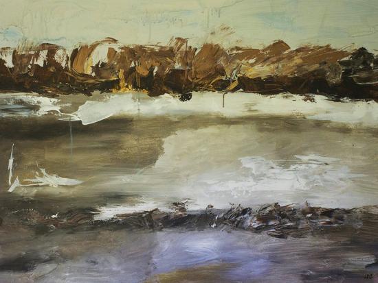 Winter Landscape-Laura D Zajac-Art Print