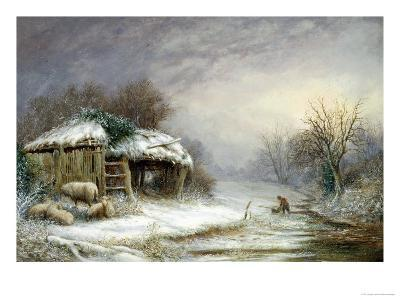 Winter Landscape-Joseph Such-Giclee Print
