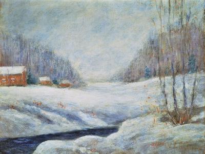 Winter Landscape-John Henry Twachtman-Giclee Print
