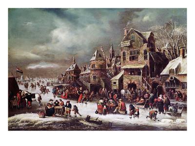 Winter Landscape-Rutger Verburgh-Giclee Print