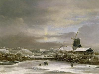 Winter Landscape-Jacob Isaaksz^ Or Isaacksz^ Van Ruisdael-Giclee Print