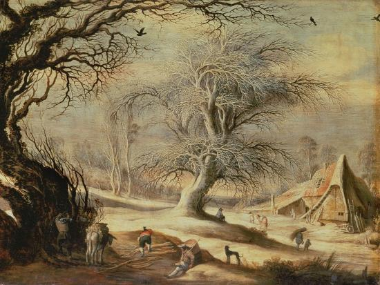 Winter Landscape-Gysbrecht Lytens or Leytens-Giclee Print