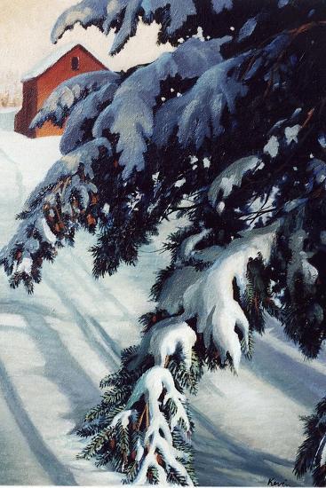 Winter Light-Kevin Dodds-Giclee Print