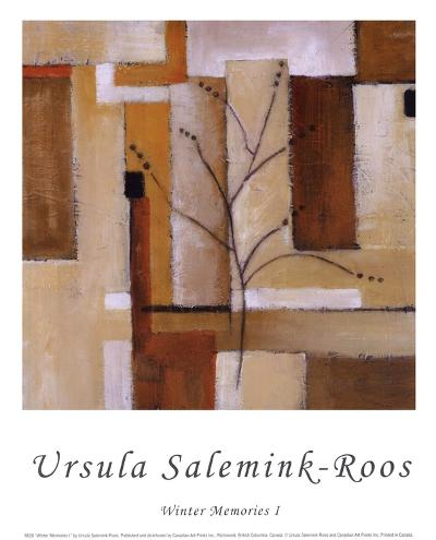 Winter Memories I-Ursula Salemink-Roos-Art Print