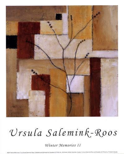 Winter Memories II-Ursula Salemink-Roos-Art Print