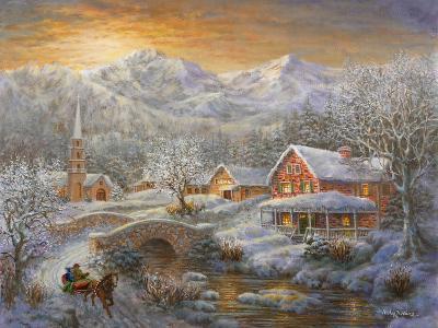 Winter Merriment-Nicky Boehme-Giclee Print