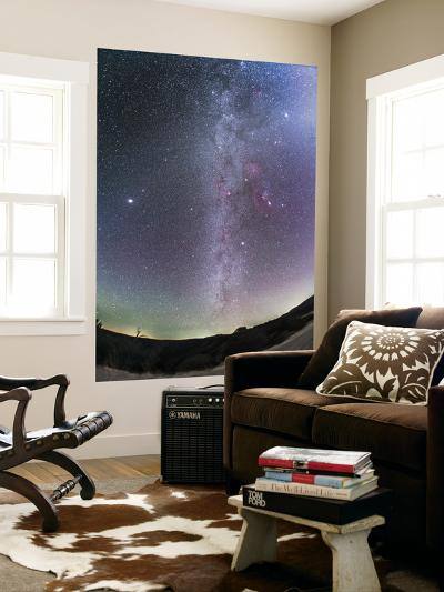 Winter Milky Way from New Mexico-Stocktrek Images-Wall Mural