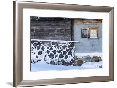 Winter Mood in Canton of Grisons-Armin Mathis-Framed Photographic Print