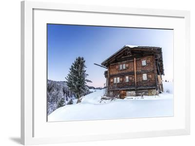 Winter Mood in the Skiing Area-Armin Mathis-Framed Photographic Print