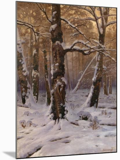 Winter Morning, 1907-1909-Gevorg Bashindzhagyan-Mounted Giclee Print