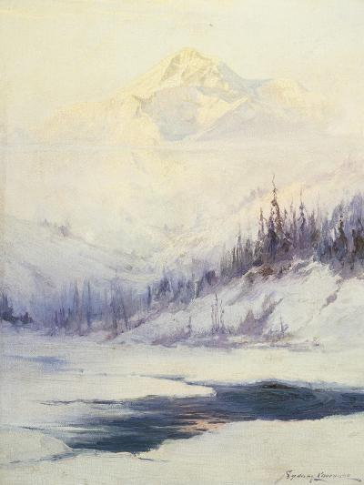 Winter Morning, Mount Mckinley, Alaska-Sidney Laurence-Giclee Print