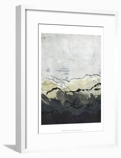 Winter Mountains I-Jennifer Paxton Parker-Framed Art Print