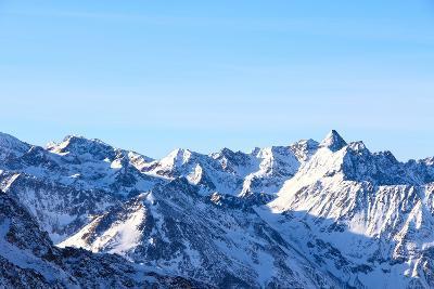 Winter Mountains- destillat-Photographic Print